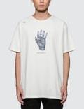 C2H4 Los Angeles 3D Hand Model Print S/S T-Shirt Picture