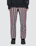Champion Reverse Weave All Over Print Sweat Pants Picture
