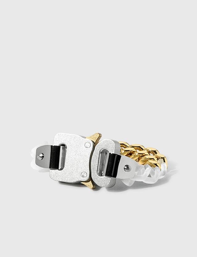 1017 ALYX 9SM Transparent Chain And Metal Bracelet Trasparent / Gold Women