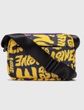 Ganni Recycled Tech Fabric Love Printed Crossbody Bag Picture