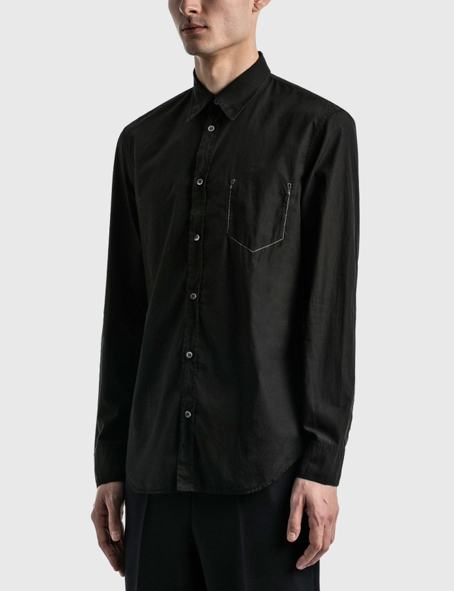 Maison Margiela 'Memory of' Pocket Shirt Anthracite Men