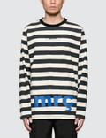 Mr. Completely Striped L/S T-Shirt Picture
