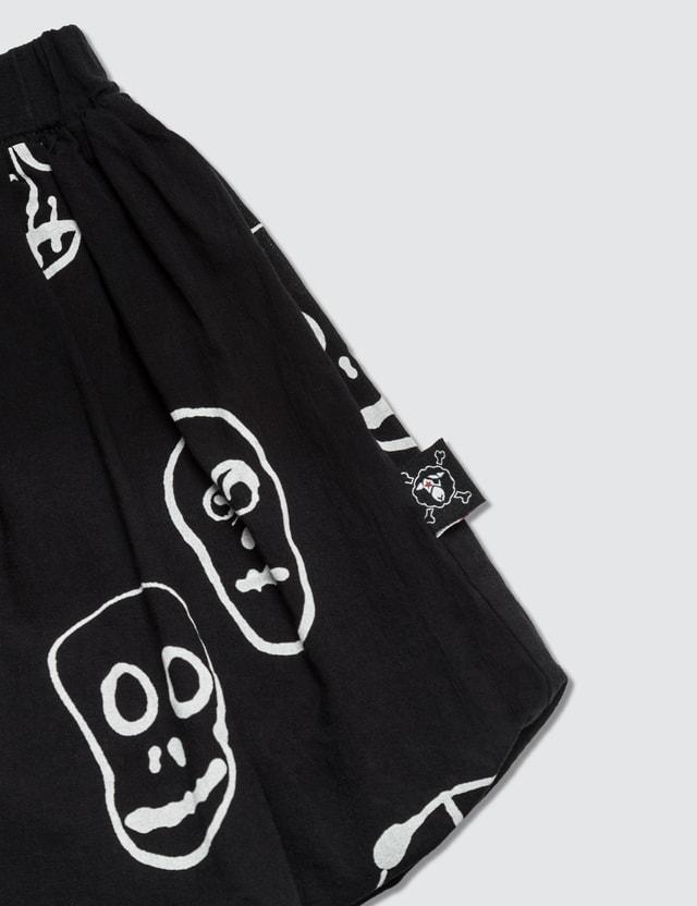NUNUNU Skull Mask Ballon Skirt