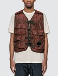 CP Company P.RI.S.M Garment Dyed Vest Picture