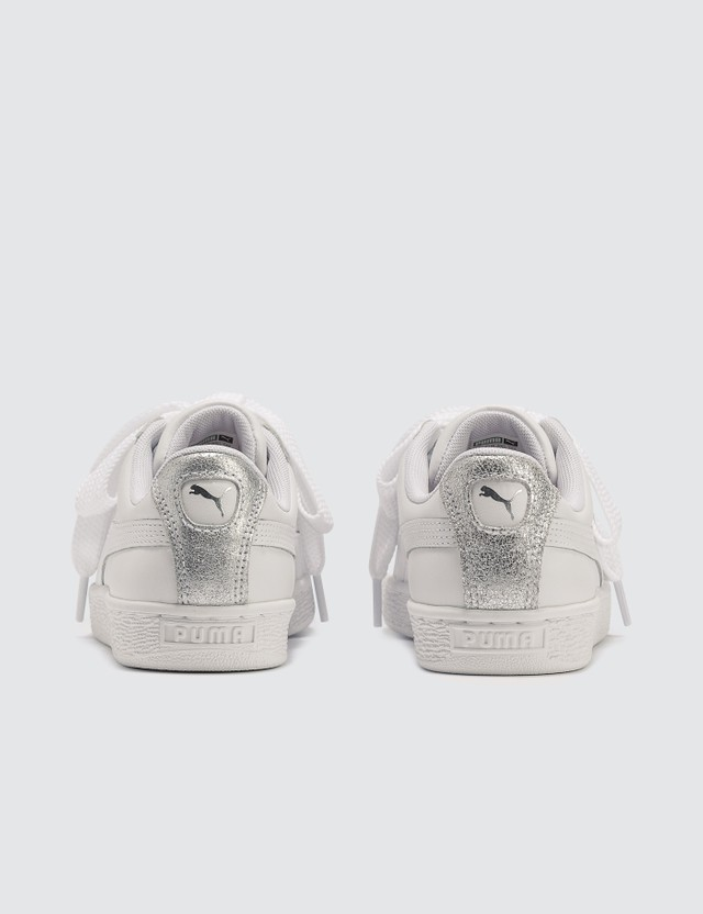 Puma Basket Heart Bio Hacking Wn's Puma White-puma Silver Women