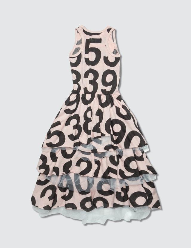 NUNUNU Numbered Layered Tulle Dress