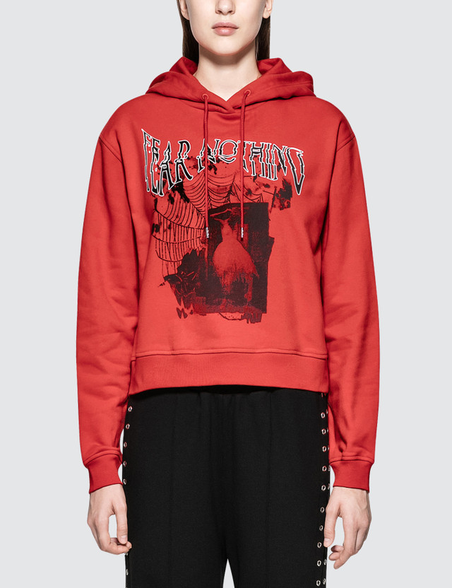 McQ Alexander McQueen Cropped Hoodie