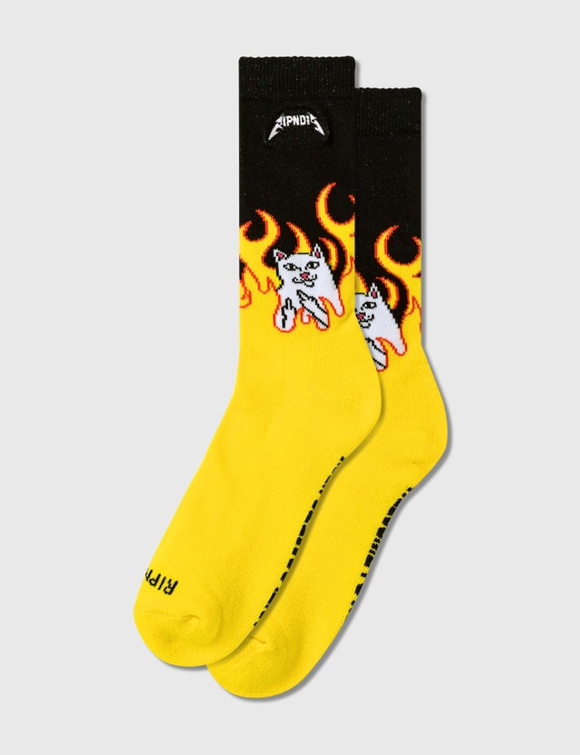RIPNDIP Welcome To Heck Socks
