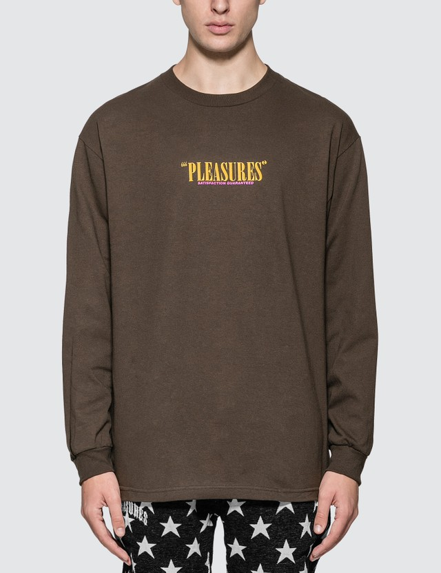Pleasures Satisfaction Guaranteed Long Sleeve T-shirt