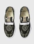Maison Mihara Yasuhiro Original Sole Bandana Printed Moccasin Sneaker Black Men