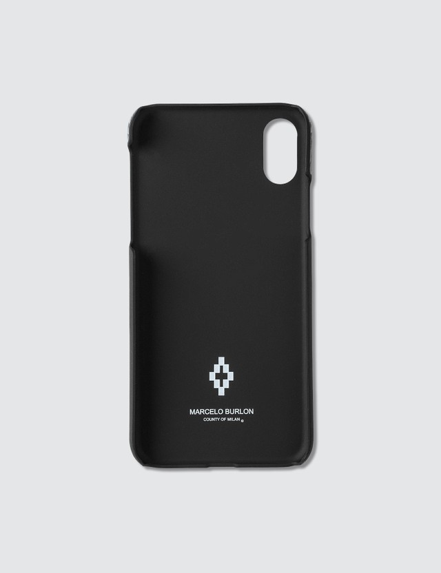 Marcelo Burlon Fluo Wings iPhone Xs Case
