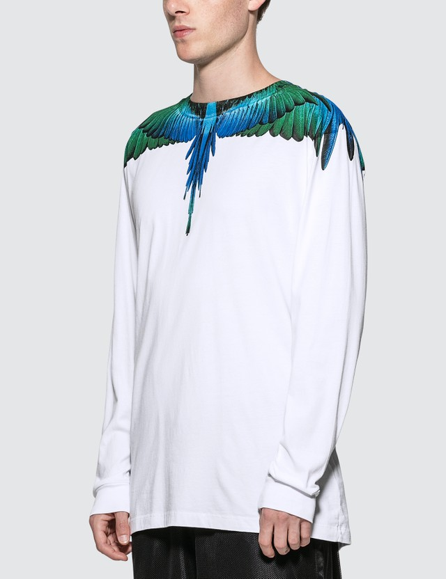 Marcelo Burlon Blue Wings T-Shirt