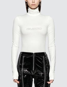 Danielle Guizio Guizio Tech Bodysuit