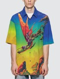Valentino Dragon At Dawn Silk Shirt Picture