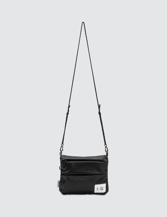 F/CE Satin Sacoche M Bag Black Men