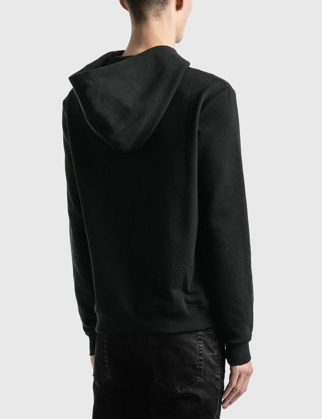 Saint Laurent Saint Laurent Logo Hoodie Noir Men