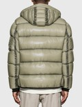 CP Company Arm Lens Quilted Down Jacket Quiet Gray Men