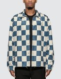 Stussy Checker Coach Jacket Picutre
