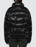 1017 ALYX 9SM Patent Puffer Jacket With Nylon Buckle