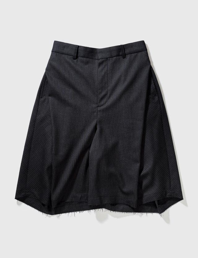 Ader Error Balkan Shorts Grey Men