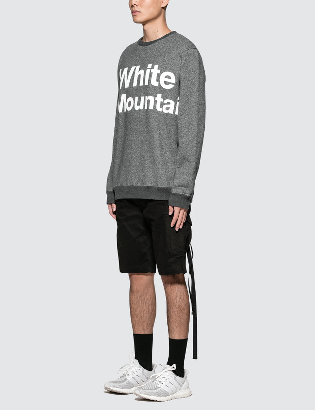 White Mountaineering Logo Printed Sweatshirt