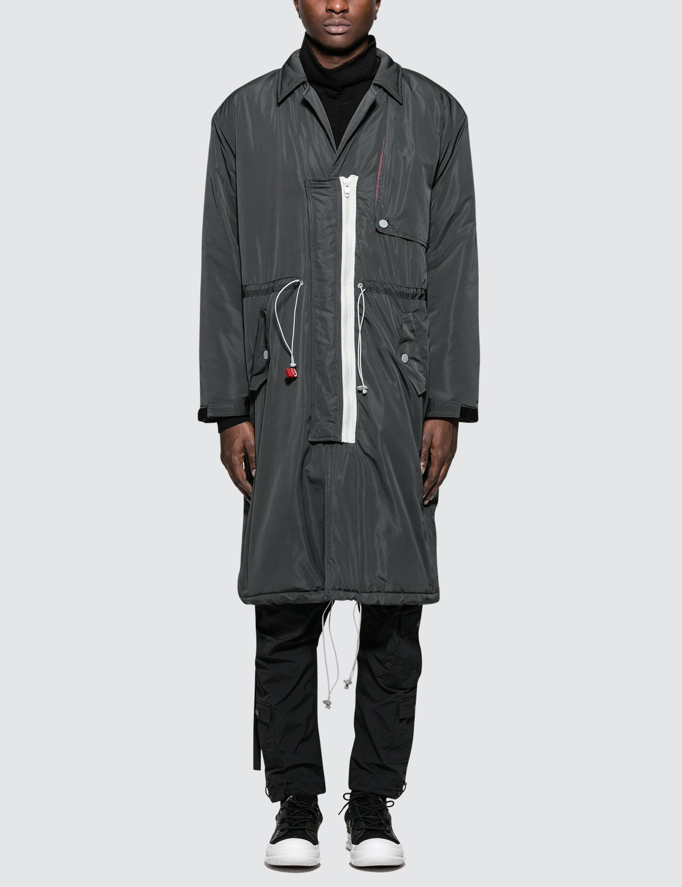 C2H4 Los Angeles Lightweight Down Trench Coat Picture