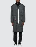 C2H4 Los Angeles Lightweight  Down Trench Coat Picutre