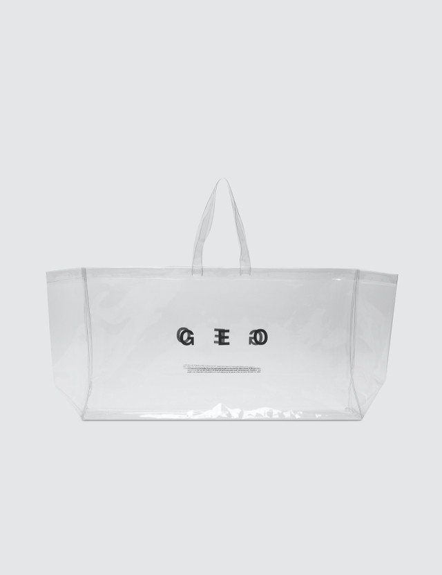 GEO Tote Bag Clear Men