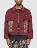 Brain Dead Corduroy Leopard Contrast Trucker Jacket 사진