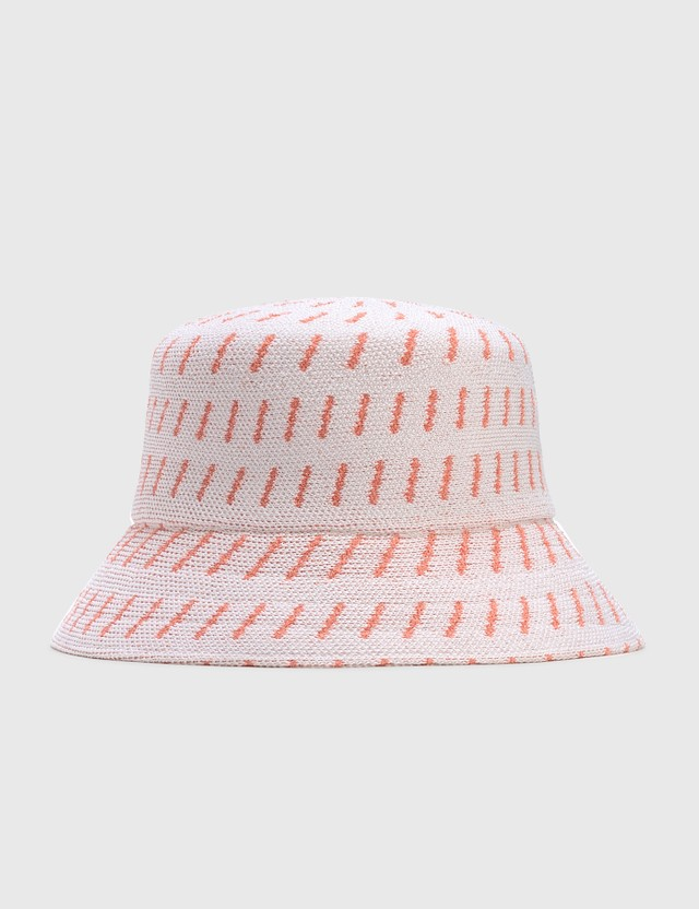 Kangol Rain Drop Bucket White/peach Pink Women