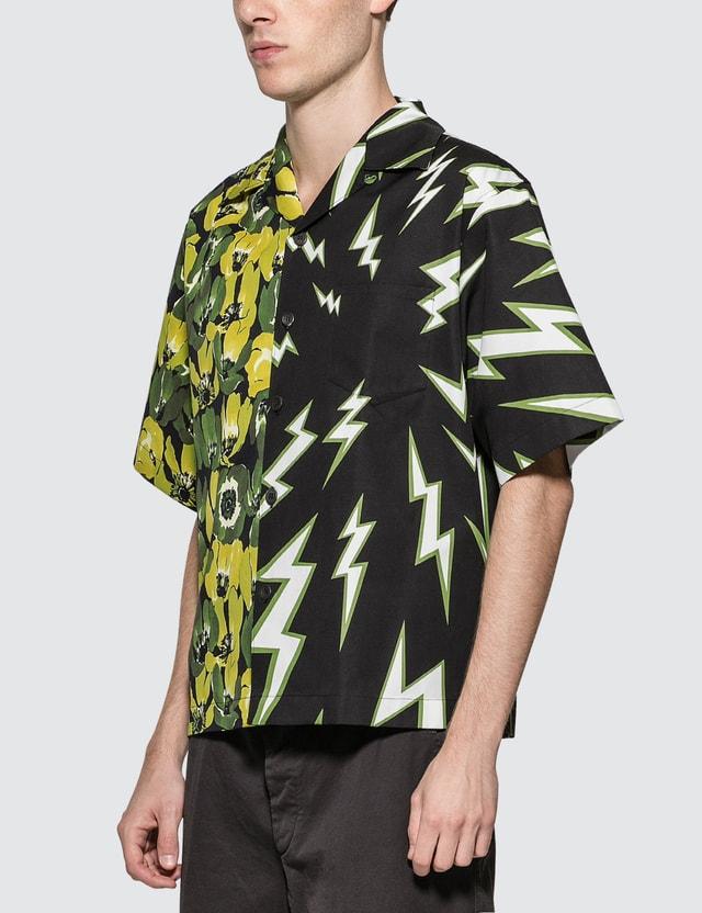 Prada Printed Poplin Shirt