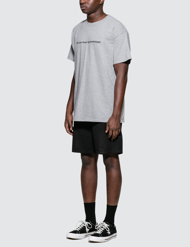 """Fuck Art, Make Tees """"You Can Never Be Overdressed"""" T-Shirt"""