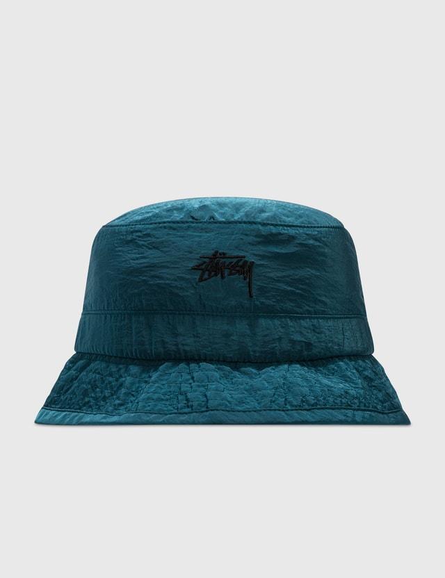 Stussy Metallic Nylon Bungee Bucket Hat