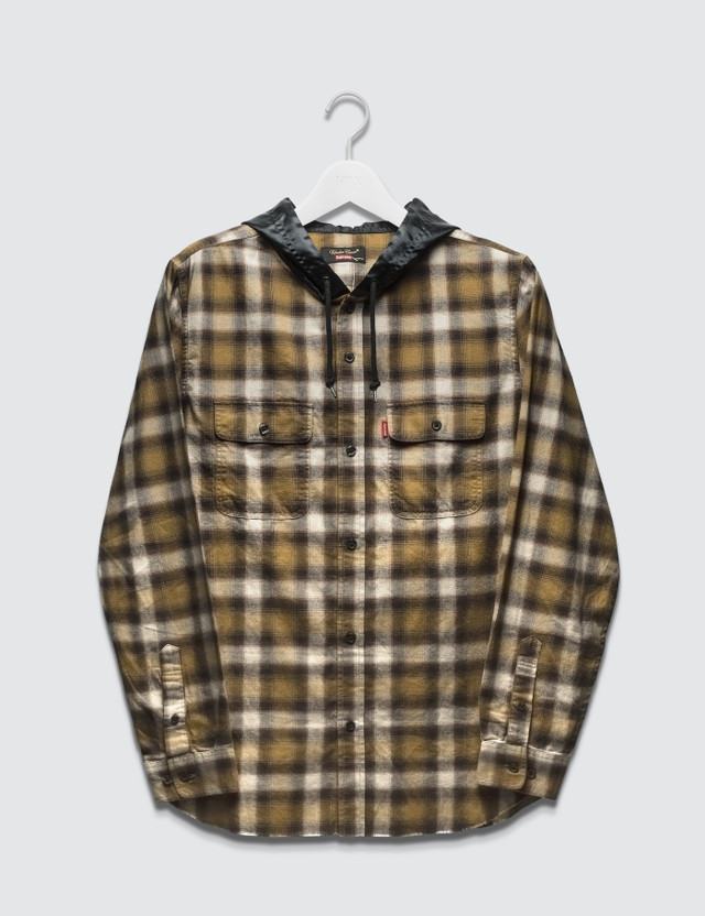 Supreme Supreme x UNDERCOVER Hooded Flannel Shirt