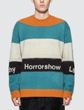 Undercover Stripe Knitted Sweater Picutre