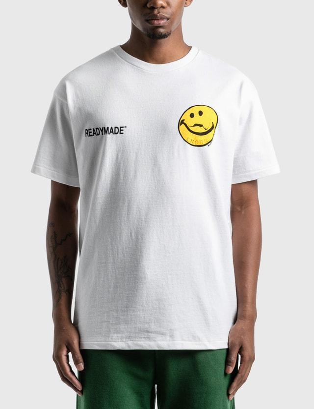 READYMADE 로고 프린트 티셔츠 White Men