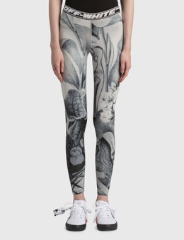 Off-White Athle Botanical Leggings