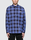 MSGM L/S Check Shirt Picture