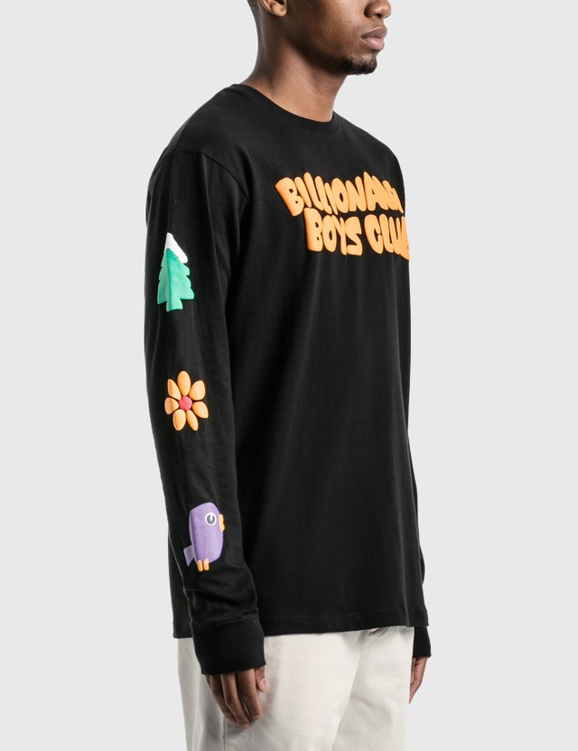 Billionaire Boys Club Clear Sky Long Sleeve T-Shirt Black Men