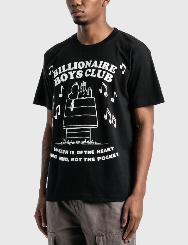 Billionaire Boys Club Billionaire Boys Club x Peanuts T-Shirt Black Men