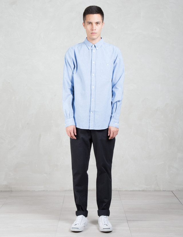 Norse Projects Aros Slim Light Twill Chinos