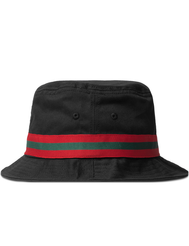 Stussy - Black SS Link Band Bucket Hat  3afb93b8d09