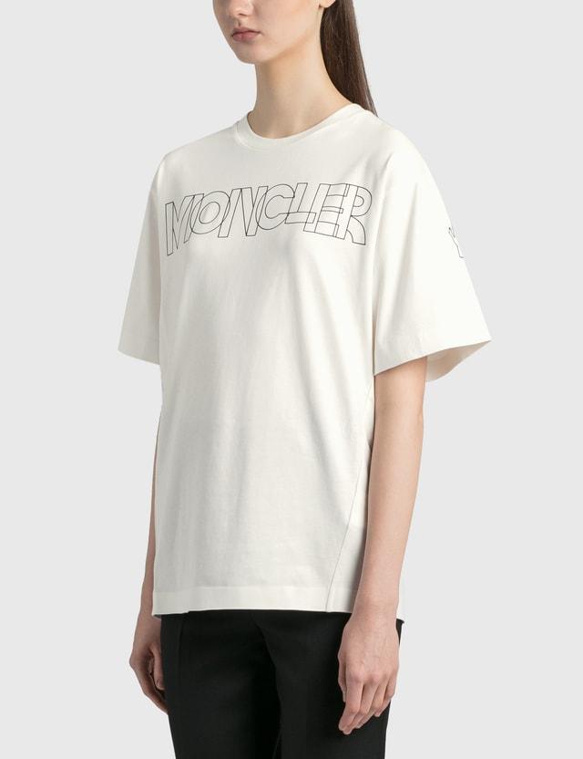 Moncler MONCLER Logo T-Shirt White Women