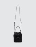 Prada Nylon Studded Bucket Bag Picture