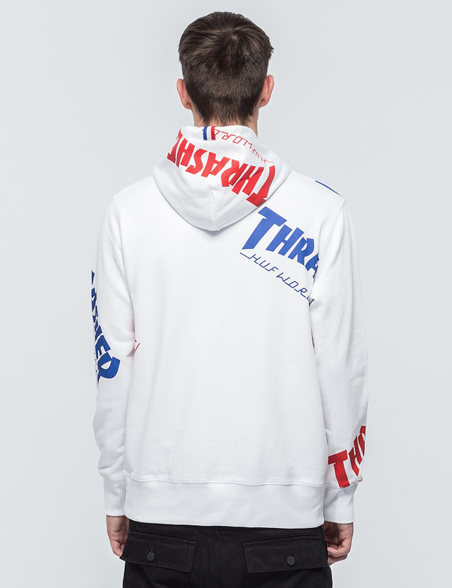 6dd78a117a97 Huf - Huf x Thrasher TDS Allover Hoodie