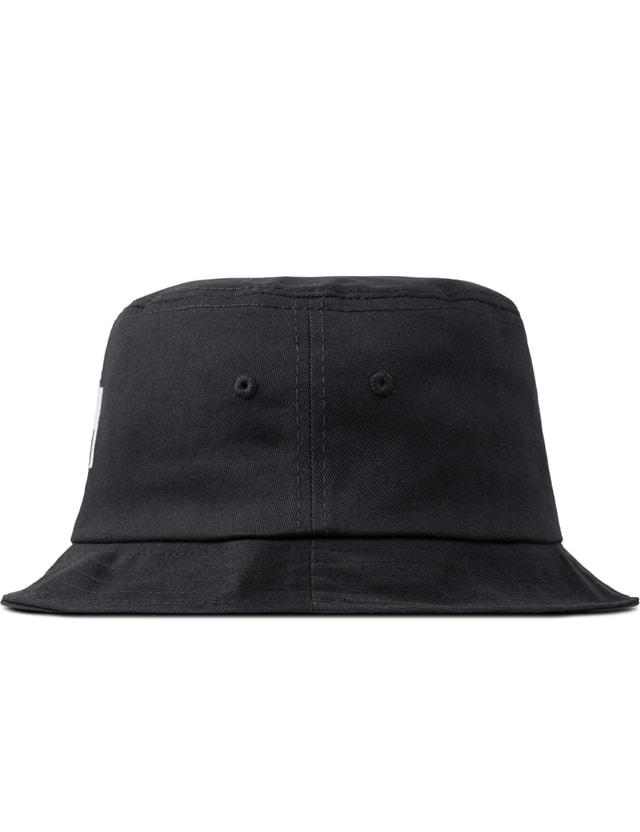 006fc8fc973435 Stussy - Black Stock Lock SU15 Bucket Hat | HBX