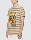 Loewe ELN Stripe T-Shirt Blue/orange Men