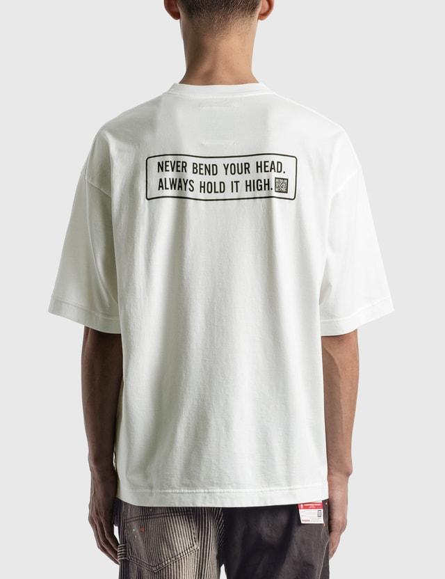 Maison Mihara Yasuhiro Mihara Printed T-shirt White Men