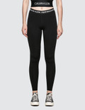 Calvin Klein Performance CK Logo Waistband Full Length Legging Picture