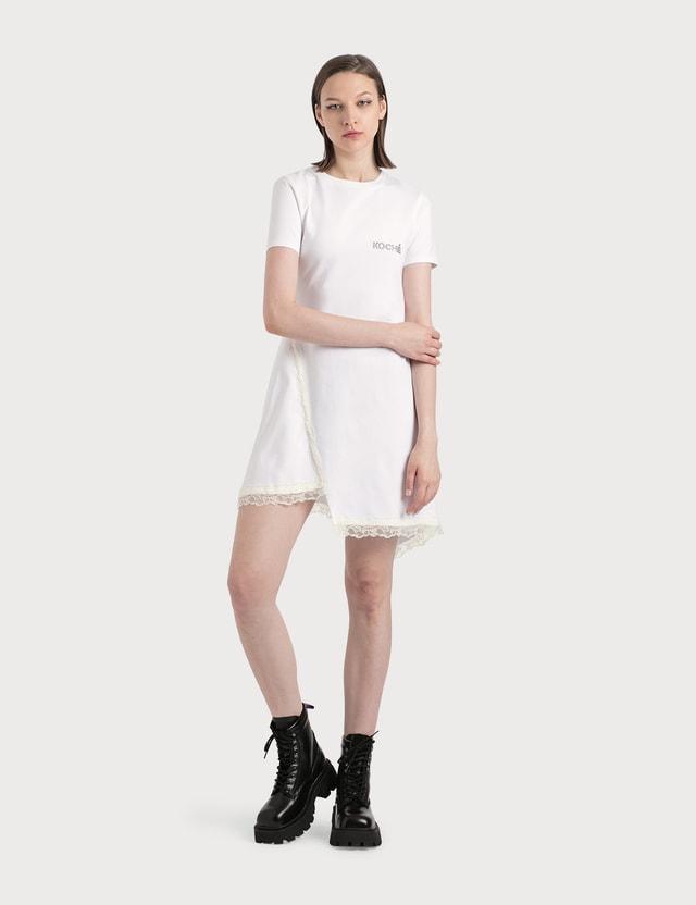 KOCHÉ Fluid Tee-shirt Dress